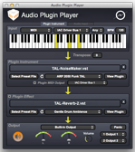 Audio Plugin Player small screenshot